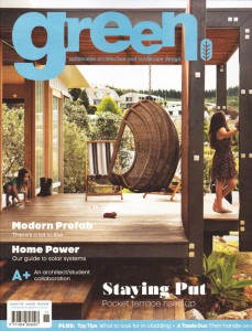 Green Magazine :: October 2012 - Cover